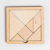 Игра головоломка деревянная 'Танграм' (мал)