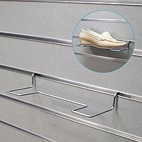 Полка для экономпанелей, для обуви, прямая, 25*10*5 с (комплект из 5 шт.)
