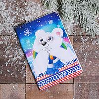 Обложка на паспорт 'СЕВЕР. Мишка'