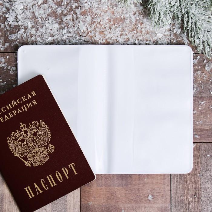 Обложка на паспорт 'СЕВЕР. Мишка' - фото 3