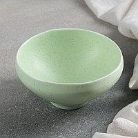 Салатник Доляна 'Амелия', 250 мл, d12 см, цвет зелёный