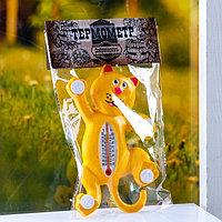 Пластиковый термометр оконный 'Тигр'в пакете