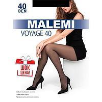Колготки женские MALEMI Voyage 40 цвет чёрный (nero), р-р 4