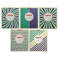 Тетрадь 48 листов в линейку Vintage, обложка мелованный картон, блок офсет, МИКС (комплект из 5 шт.)