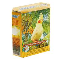 Корм 'Бриллиант' для средних попугаев, с растительно-минеральными добавками, 500 г
