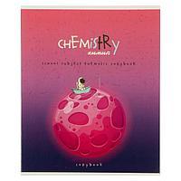 Тетрадь предметная 'Космос', 40 листов в клетку 'Химия', обложка мелованный картон, ВД-лак, блок офсет