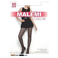 Колготки женские MALEMI Ciao 40 den, цвет чёрный (nero), размер 3