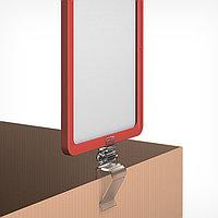 Рама из ударопрочного пластика с закругленными углами А5, без протектора, цвет прозрачный (комплект из 10 шт.)