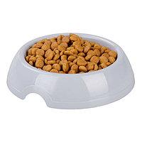 Миска 'Барсик' для кошек и собак 0,2 л, серый