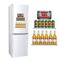 Наклейка для холодильника 'Набор 100 мужика', 2 листа