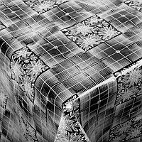 Скатерть без основы многоразовая 'Ажурная', 110x132 см, цвет МИКС