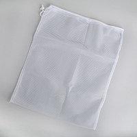 Мешок для стирки белья, 38x50 см, цвет белый