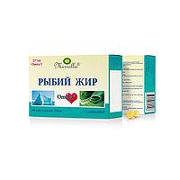 Рыбий жир Mirrolla с ламинарией, 100 капсул по 0,37 г
