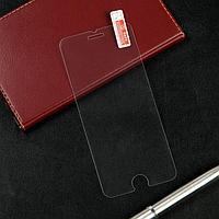 Защитное стекло 2.5D LuazON для iPhone 7/8/SE2020, полный клей