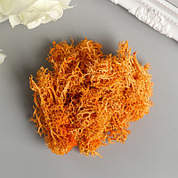 Мох искусственный 'Оранжевый' 10 гр