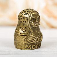 Напёрсток сувенирный 'Москва', латунь