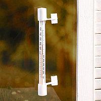 Пластиковый термометр оконный 'Липучка' в п/п ,