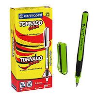 Ручка-роллер, 0.5 мм, Centropen Tornado Cool 4775, одноразовая, корпус микс, картонная упаковка (комплект из