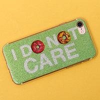 Чехол для телефона iPhone 7,8 I don't care, 6.5 x 14 см