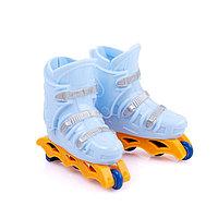 Пальчиковые роликовые коньки 'Слалом', цвета МИКС