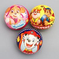 Мягкий мяч 6,3см, микс (комплект из 12 шт.)