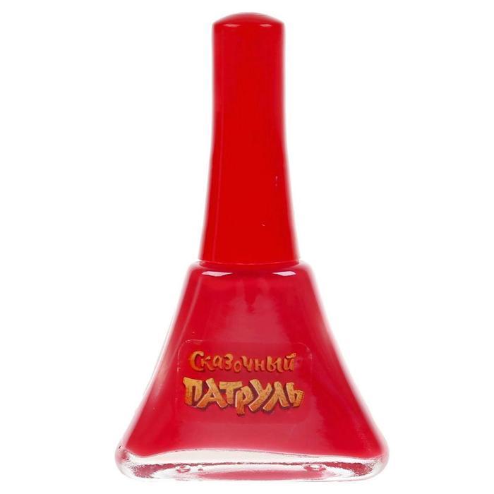 Косметика для девочек 'Сказочный патруль', лак для ногтей, 5 мл, цвет алый, МИКС - фото 3