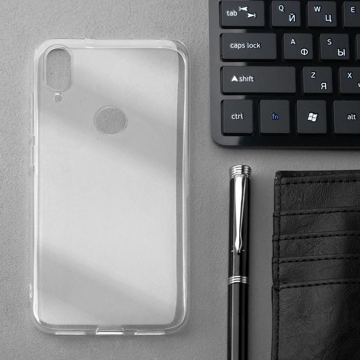 Чехол Innovation, для Xiaomi Mi Play, силиконовый, прозрачный - фото 1