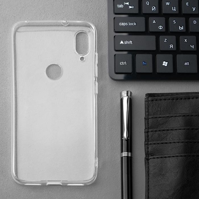 Чехол Innovation, для Xiaomi Mi Play, силиконовый, прозрачный - фото 2