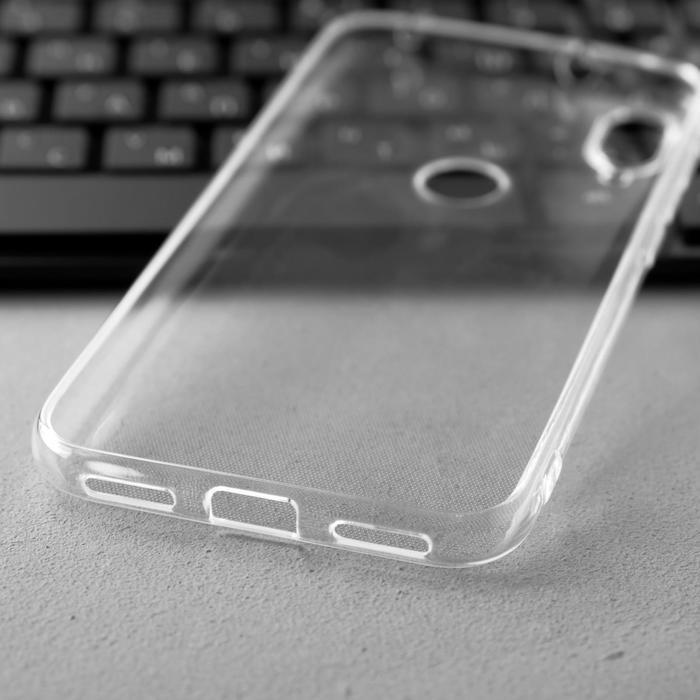 Чехол Innovation, для Xiaomi Mi Play, силиконовый, прозрачный - фото 3