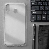 Чехол Innovation, для Samsung M30, силиконовый, прозрачный