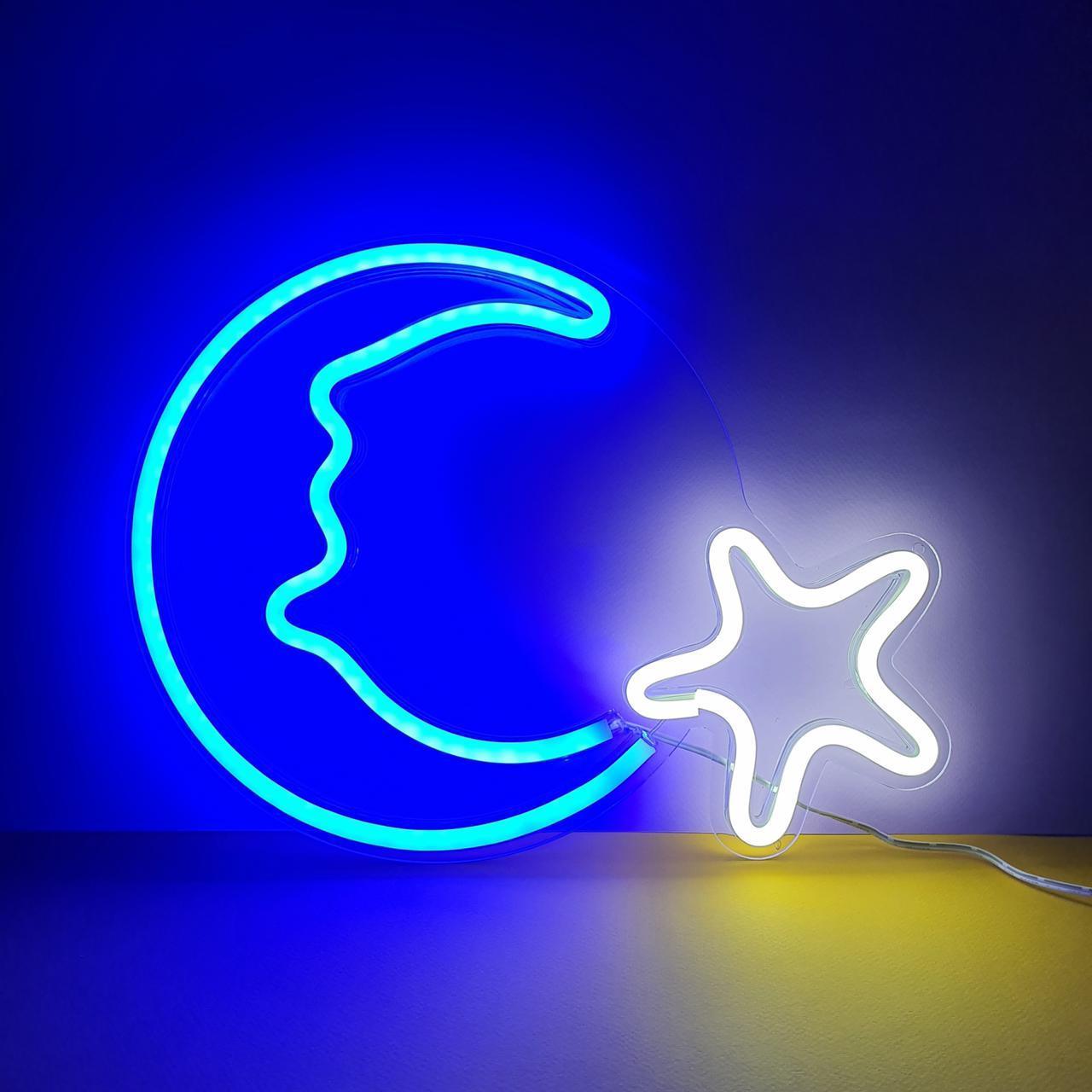 Креативные неоновые светильники (большие) - фото 5