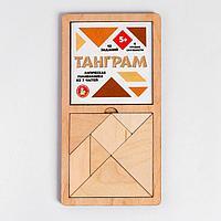 Игра головоломка деревянная 'Танграм' (бол)