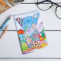 Обложка на паспорт 'Екатеринбург. Мишка'