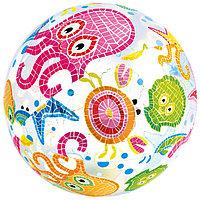 Мяч пляжный 'Узоры', d51 см, от 3 лет, цвета МИКС, 59040NP INTEX