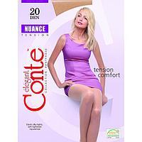 Колготки женские CONTE ELEGANT NUANCE 20 ден цвет натуральный (natural), р-р 3