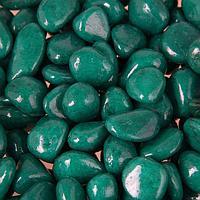 Грунт для аквариума 'Галька цветная, изумрудная' 800г фр 8-12 мм