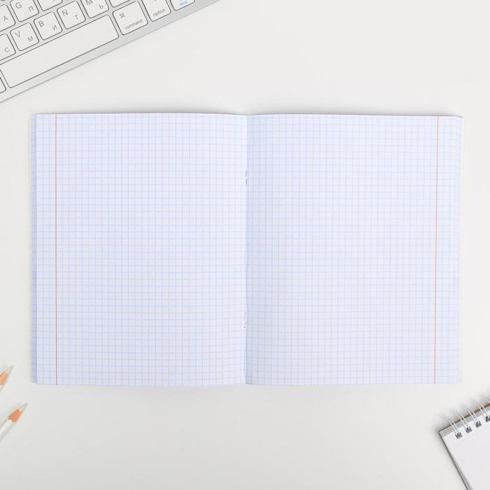 Тетрадь А5, 96 листов на скрепке, уф-лак Purr-purr - фото 3