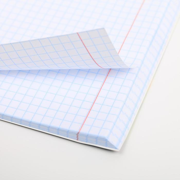 Тетрадь А5, 96 листов на скрепке, уф-лак Purr-purr - фото 4