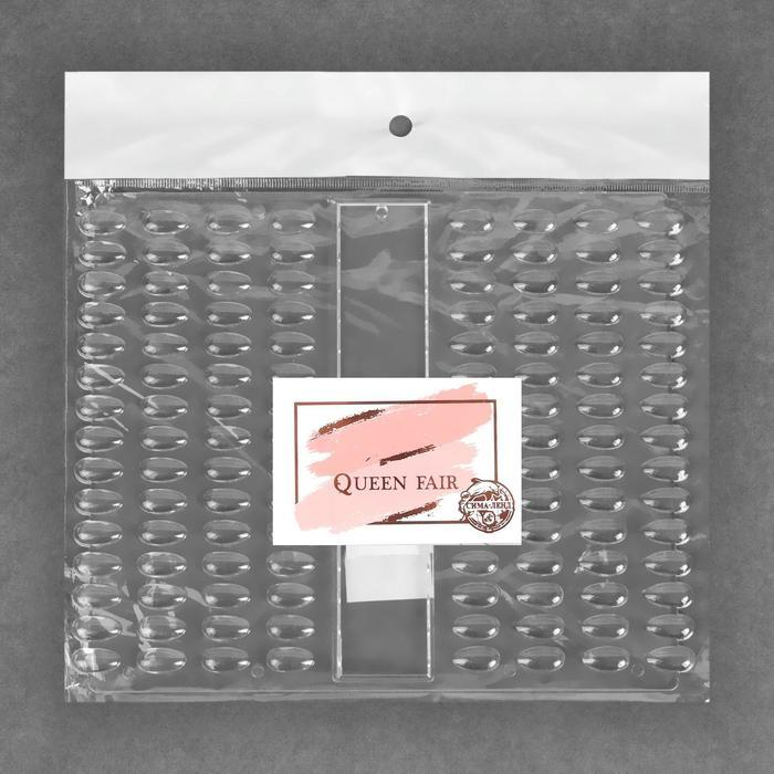 Палитра для лаков, 120 ногтей, 21,5 x 18 см, цвет прозрачный - фото 4