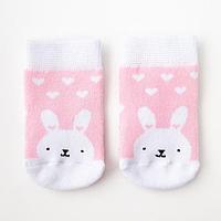 Носки детские махровые Крошка Я 'Зайка' р. 10-12 см