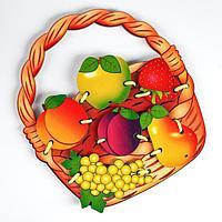 Шнуровка 'Корзина с фруктами'