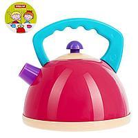 Посуда детская 'Чайник', цвета МИКС
