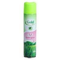 Освежитель воздуха Gold wind 2 в 1 зеленая трава, 300 мл