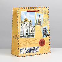 Пакет подарочный МС 'Краснодар'