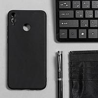 Чехол Innovation, для Huawei Honor 8X, силиконовый, матовый, черный