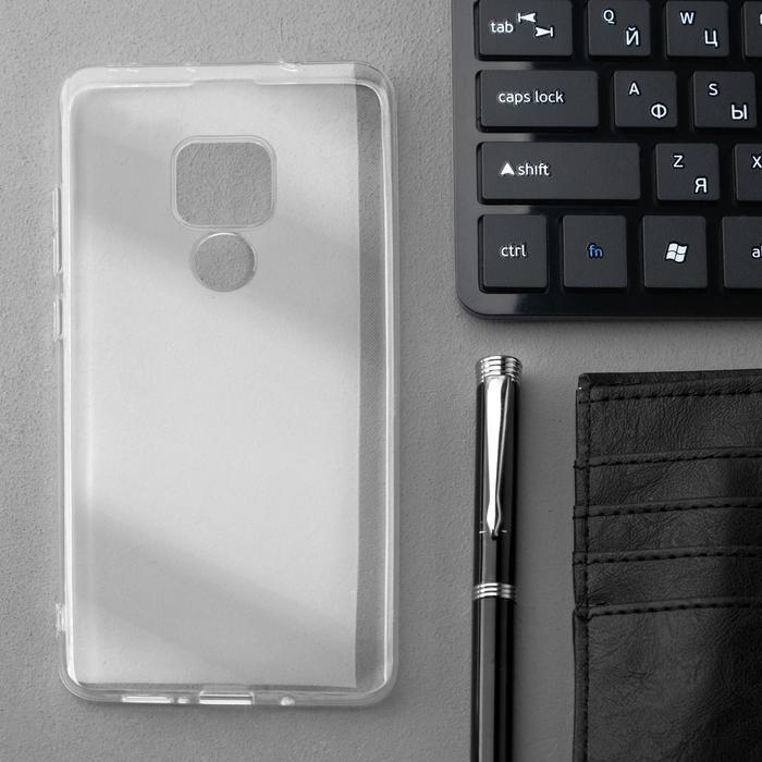 Чехол Innovation, для Huawei Mate 20, силиконовый, прозрачный - фото 1