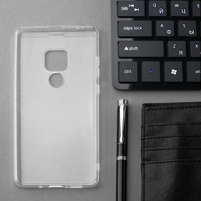 Чехол Innovation, для Huawei Mate 20, силиконовый, прозрачный - фото 2