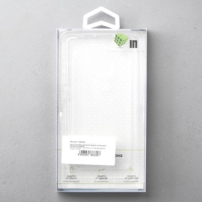 Чехол Innovation, для Huawei Mate 20, силиконовый, прозрачный - фото 4