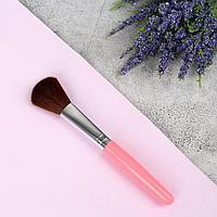 Кисть для макияжа, 14,5 см, цвет МИКС