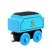 Детский вагончик для железной дороги, 3.4 x 6.2 x 4.4 см